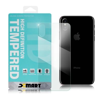 XM iPhone X 5.8吋 薄型 9H 玻璃保護貼(背面貼)