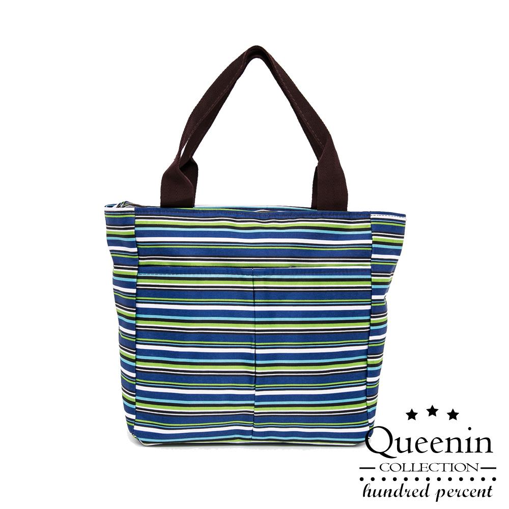 DF Queenin - 簡約漫活輕旅行尼龍手提包-共3色