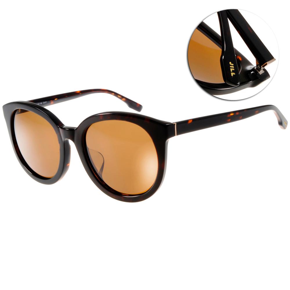 JILL STUART太陽眼鏡 時尚圓框/深邃琥珀#JS20005X C01P