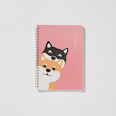 Shiro&Maro線圈筆記本(小)