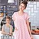 睡衣 碎花灰點點短袖連身睡衣(R75026-6灰點點)台灣製造 蕾妮塔塔 product thumbnail 1