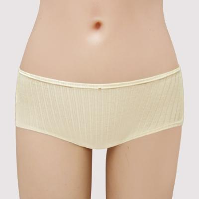 曼黛瑪璉-2015SS-marie Q 低腰平口棉褲M-XL(裸棕)