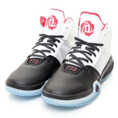 ADIDAS-D ROSE 773男籃球鞋-白黑