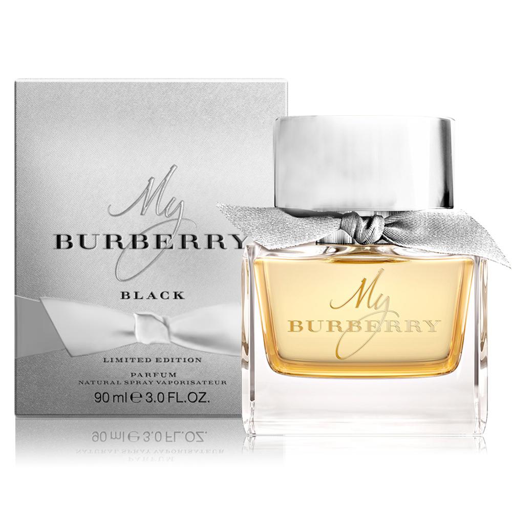 BURBERRY MY BURBERRY BLACK節慶版淡香精90ml-加贈隨機小香