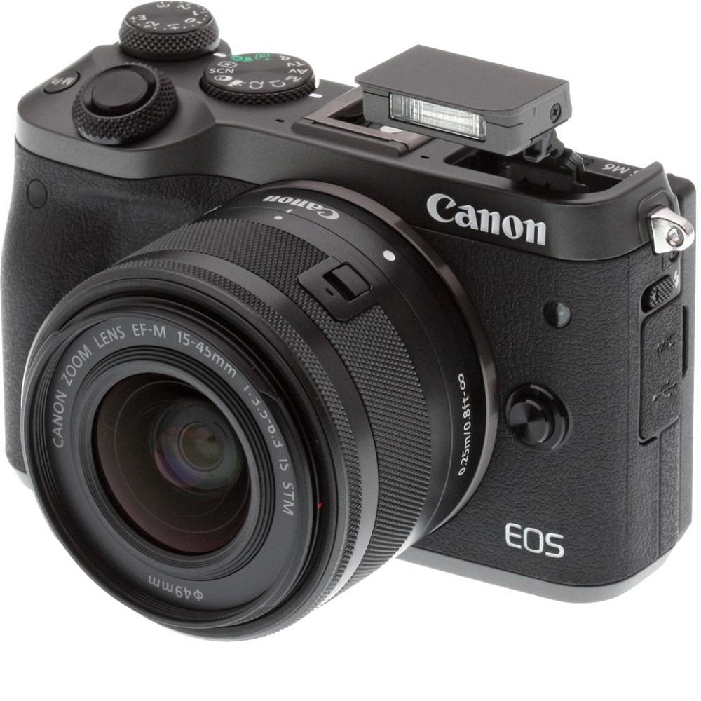 Canon EOS M6 + 15-45mm 變焦鏡組 (平輸中文)