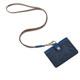 MI PIACI-Jet Set-證件套-布配皮款橫式-1085519-海軍藍 product thumbnail 1