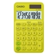 CASIO 10位元甜美馬卡龍輕巧口袋型計算機(SL-310UC-YG)-芥末黃 product thumbnail 1