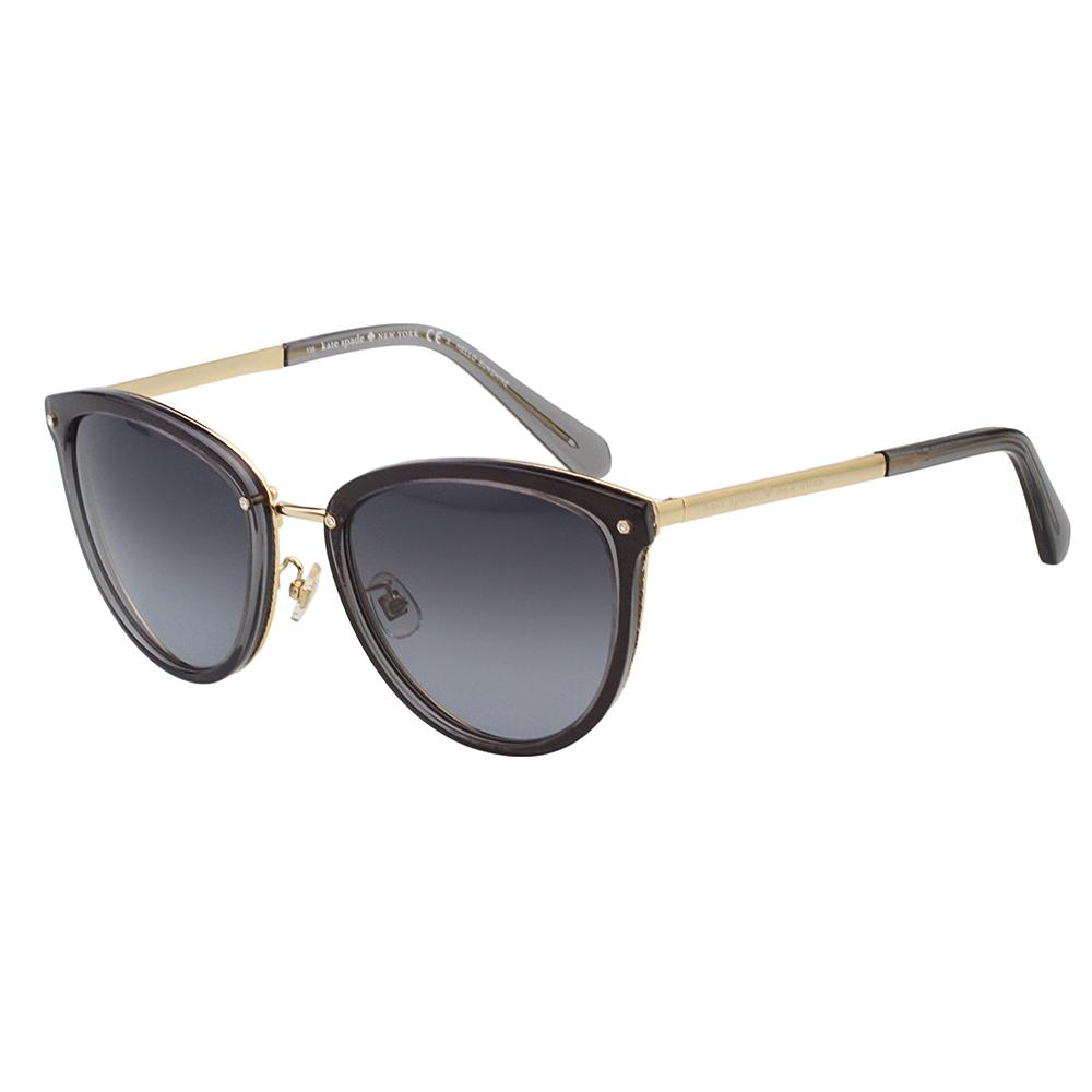 Kate Spade- 時尚復古 太陽眼鏡(黑色)