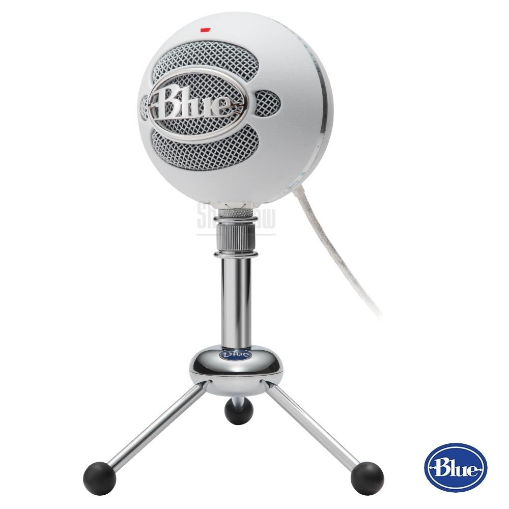 【公司貨】美國BLUE Snowball雪球USB麥克風 雪白色