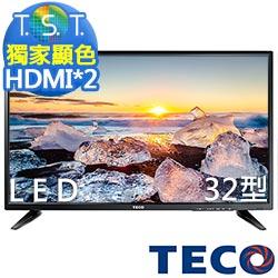 TECO東元 32吋 低藍光液晶電視 TL32K1TRE