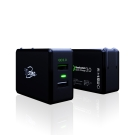 TCSTAR QC3.0雙孔USB快速充電旅充 TCP230BK