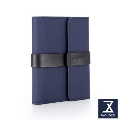 74盎司 Mix 配皮設計中夾[N-559]藍