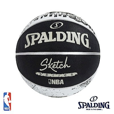 SPALDING 街頭素描 #7 籃球 SPA83534