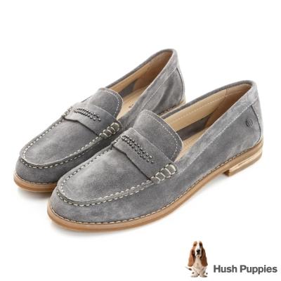 Hush Puppies Aubree 鉚釘百搭鞋-藍灰色