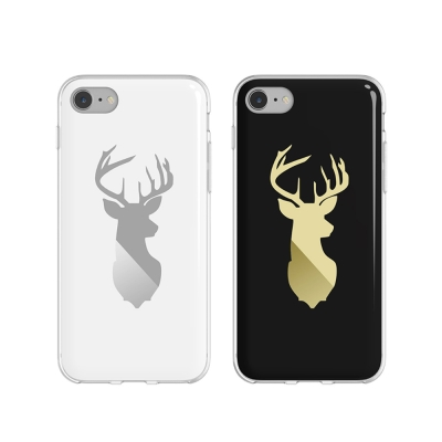 bcase Apple iPhone 7 插畫師手機套-鹿紋款