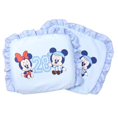 【麗嬰房】迪士尼 Disney 運動米奇乳膠圓枕(藍)