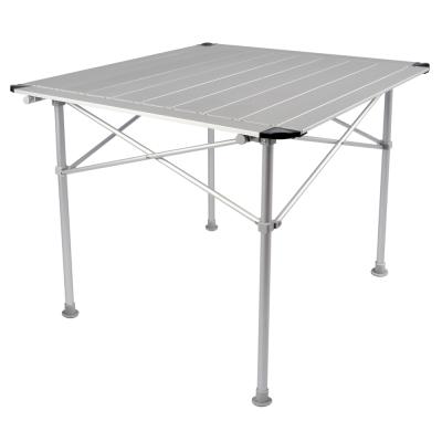 LIFECODE鋁合金蛋捲桌-折疊桌80x80cm-附收納袋