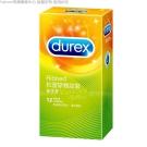 Durex杜蕾斯 螺紋裝 保險套 12入(快速到貨)