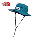 The North Face北面藍色透氣休閒運動帽