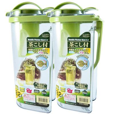 日本岩崎耐熱冷水壺2.2L 2入組