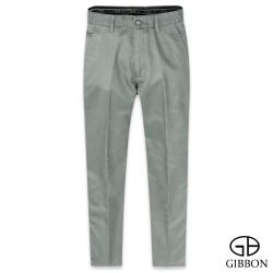 GIBBON 簡約質感輕棉平口休閒褲‧灰色31-42