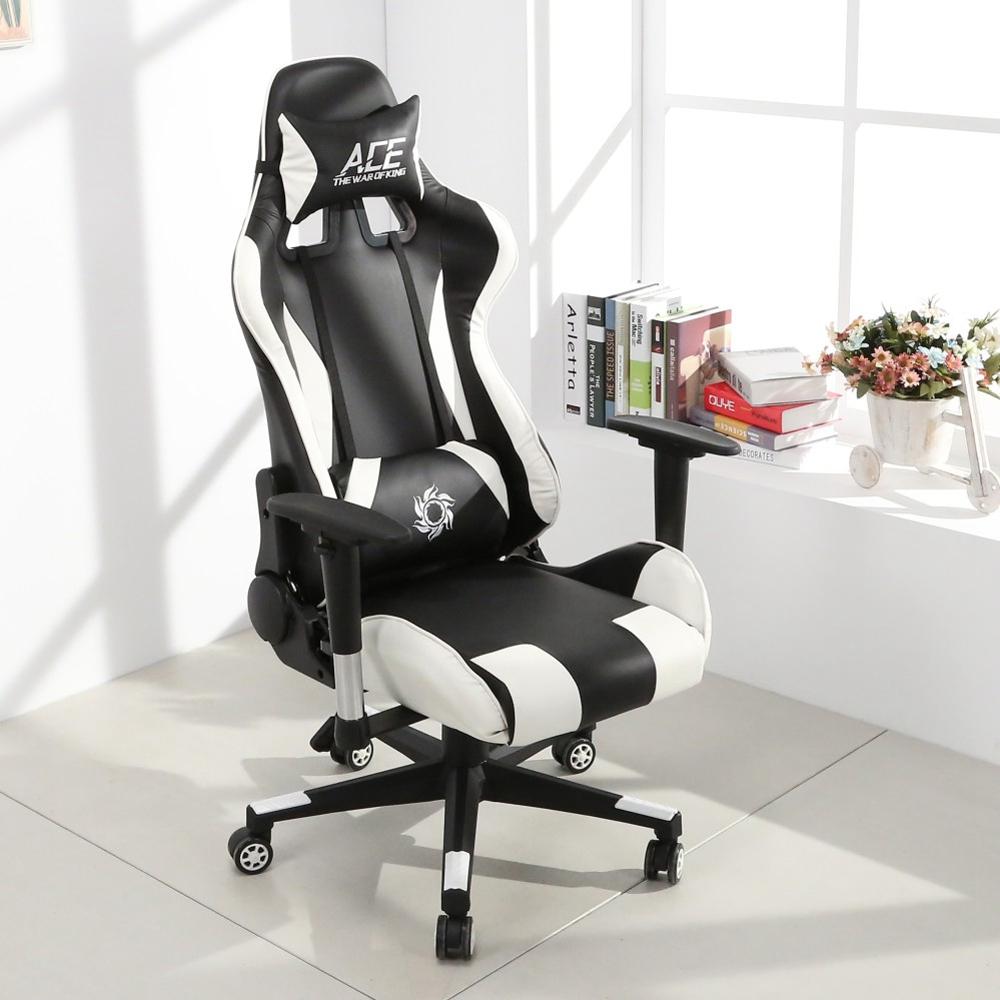 LOGIS邏爵-時尚飆速皮面電競椅 賽車椅 皮椅