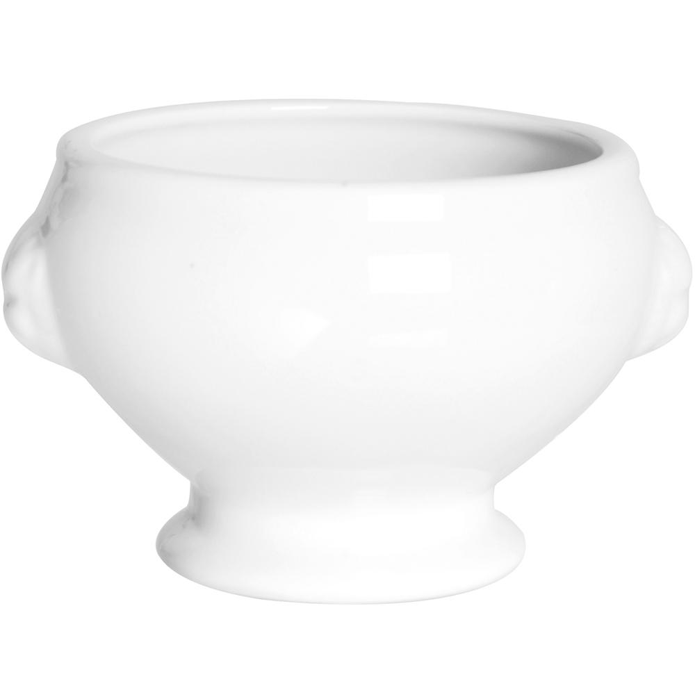 EXCELSA White白瓷酥皮濃湯碗(13cm)