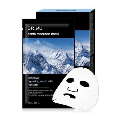 DR.WU 冰峰珍珠花修護面膜3片入