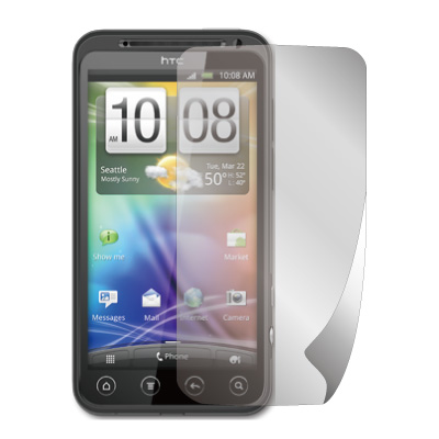 ZIYA HTC EVO 3D 抗刮螢幕保護貼 (兩入裝)