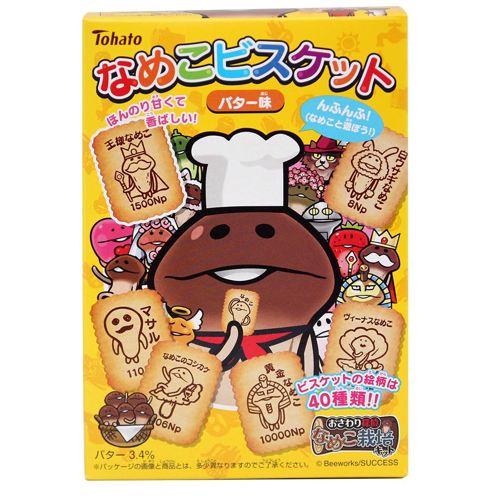 東鳩 菇菇栽培餅乾-奶油味(48g)