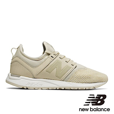 New Balance復古鞋 WRL247CB-B女性米色