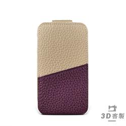 iphone i7 Plus / i8 Plus Style-U6 PDA上蓋拼皮夾層 客製皮套