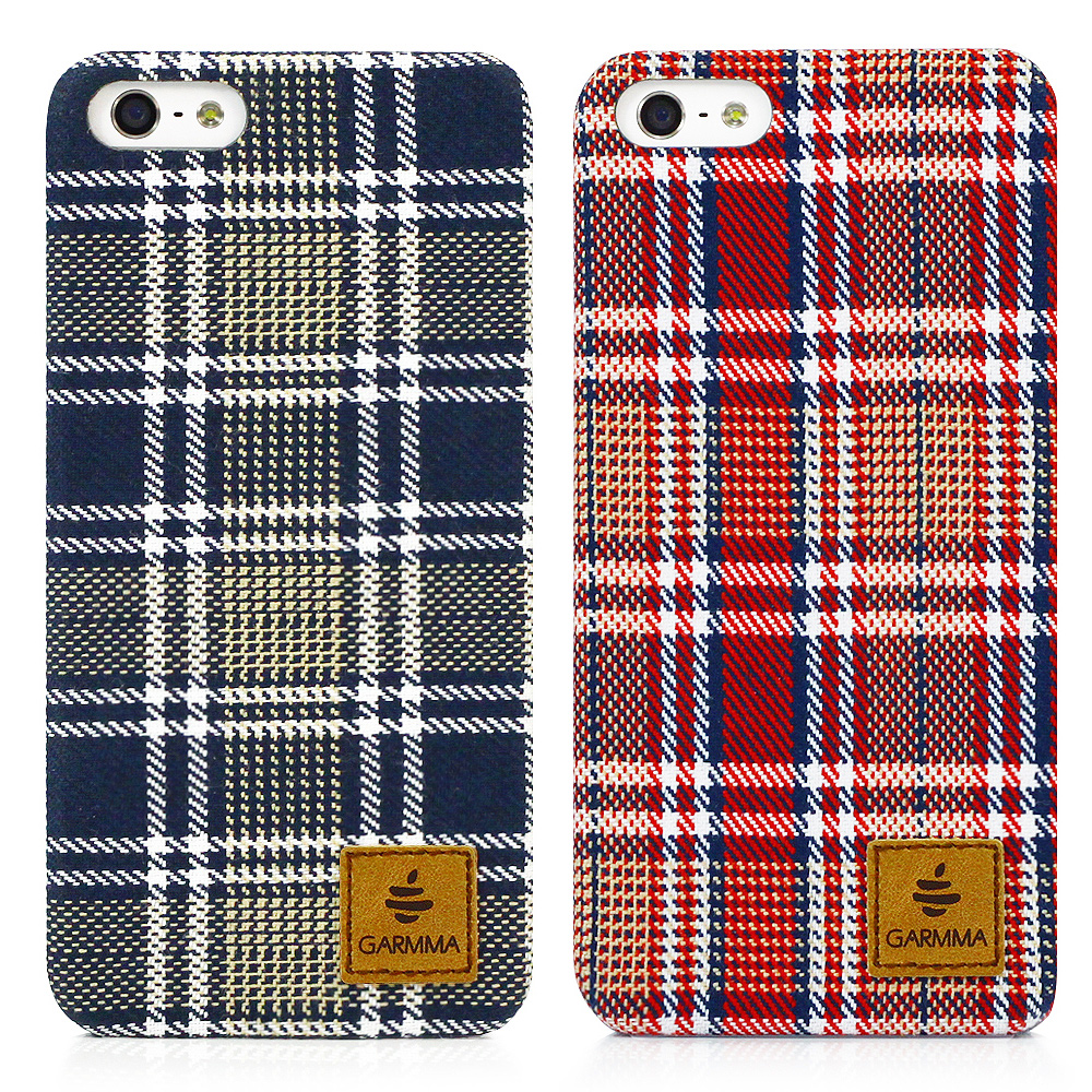 Garmma Flannel IPHONE 5/5S/SE法蘭絨布手機殼-格紋系列
