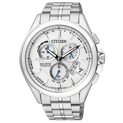 CITIZEN-王牌紳士光動能鈦金屬腕錶-BY0051-55A-銀白-45mm