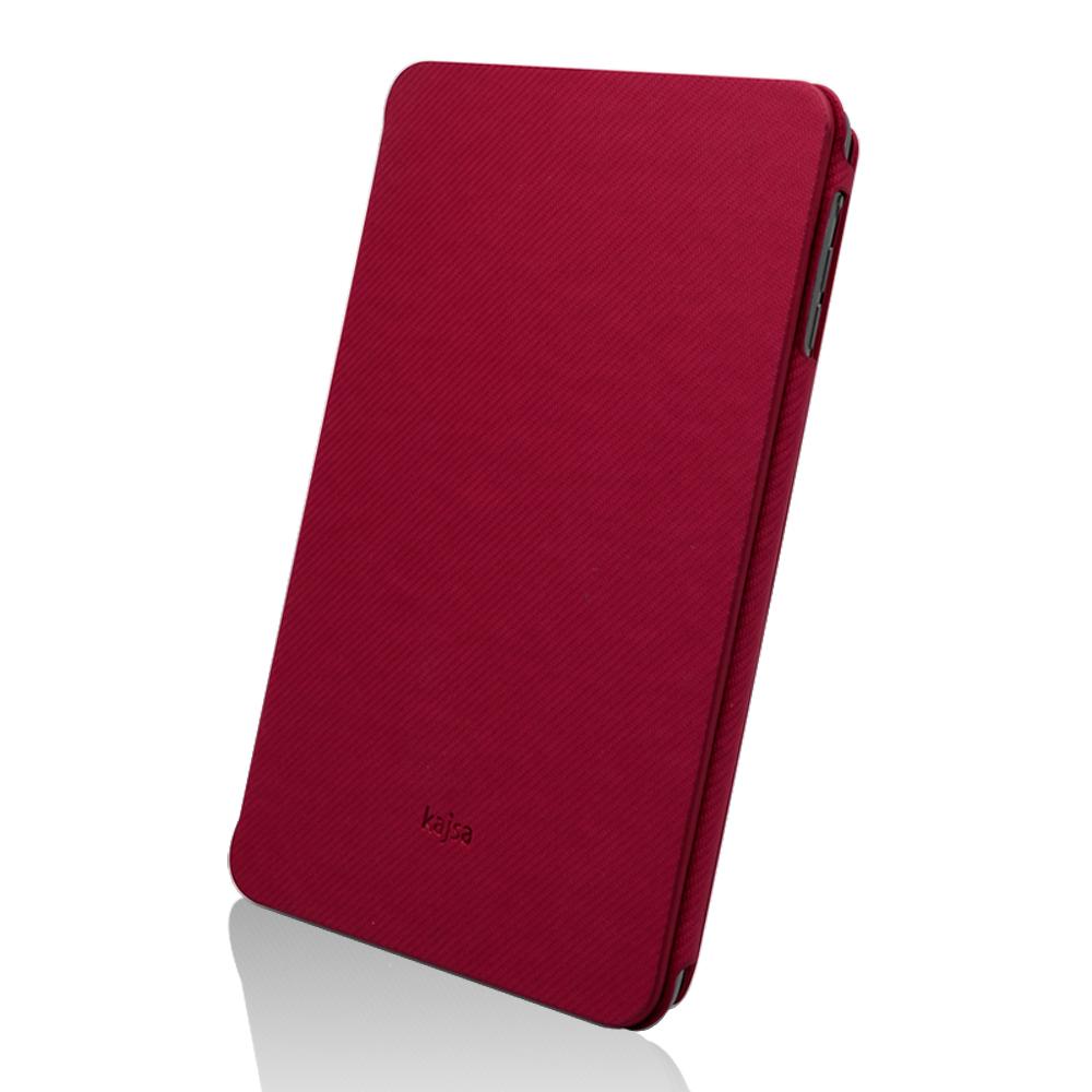 Kajsa Svelte iPad mini 多角度站立皮套(燈芯紋)