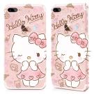 GARMMA Hello Kitty iPhone 8+7+ 硬式保護殼 蜜糖公主