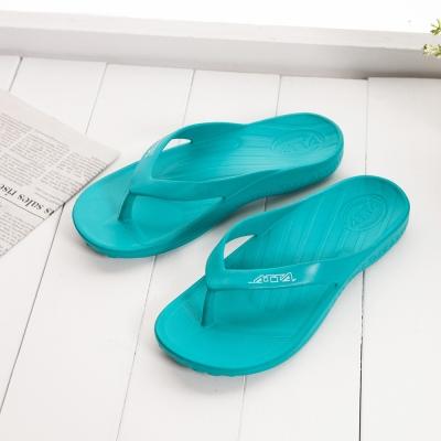 ATTA運動風簡約夾腳拖鞋-珀綠色