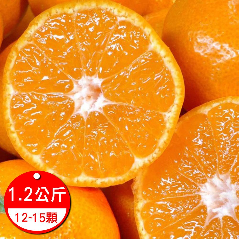 果之蔬 頂級日本德島 溫室蜜柑 1.2公斤原盒12~15顆/盒