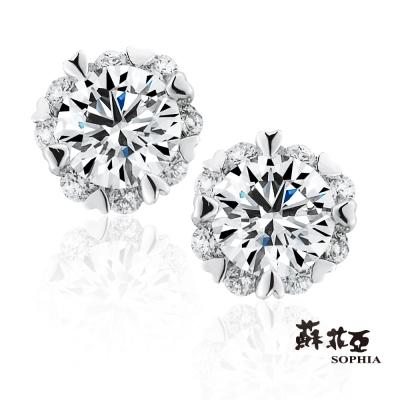 蘇菲亞SOPHIA - 費洛拉 S 0.20克拉鑽石耳環