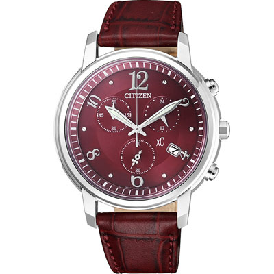 CITIZEN 星辰 xC系列 花漾年華計時腕錶 FB1430-00W
