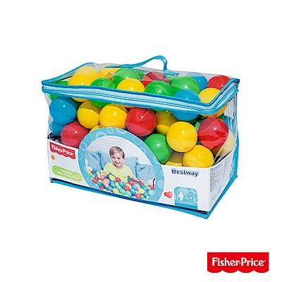 Fisher-Price 球池用安全塑膠彩球/遊戲球 93526-速