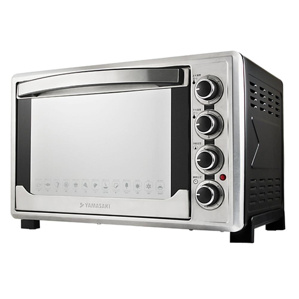 山崎45L不鏽鋼三溫控烘焙全能電烤箱 SK-4590RHS