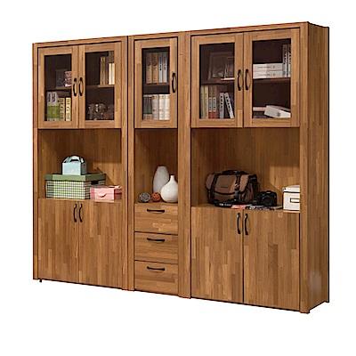 Bernice-奧德克 6 . 7 尺書櫃/收納櫃組合- 200 x 40 x 183 cm