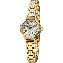 Rosemont 玫瑰錶茶香玫瑰系列IV 酒桶型時尚錶-金色/22x23mm