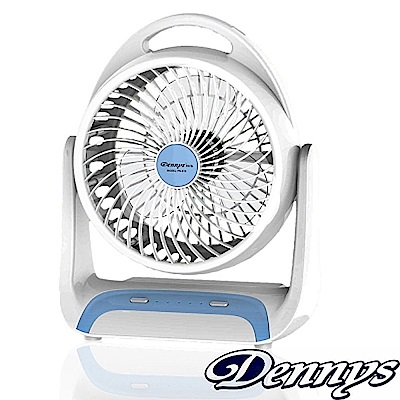 Dennys 6吋USB充電式LED燈風扇(FN-610)