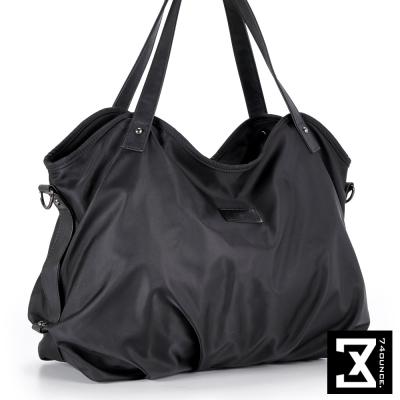 74盎司 高磅數尼龍肩/側背包[LG-780]黑