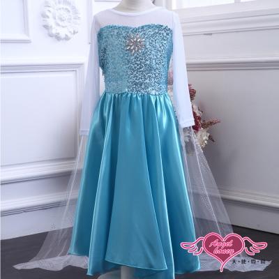天使霓裳 冰雪精靈 萬聖節童裝系列(淺藍100~140)