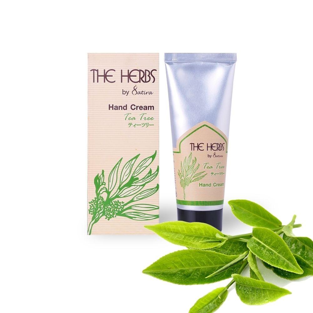 THE HERBS 天然草本護手霜-綠茶75g