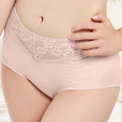 思薇爾 輕沁舒系列M-XXL高腰夜用生理褲(晨曦膚)