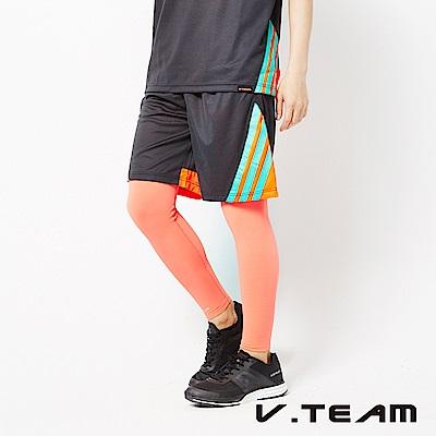 VTEAM 吸排籃球褲-黑